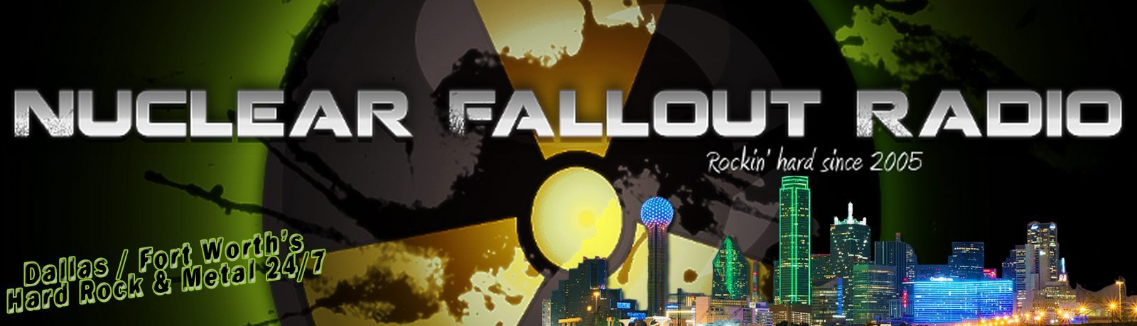 Nuclear Fallout Radio - Dallas/Fort Worth Hard Rock/Metal